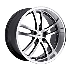 TSW Cadwell 20 Gunmetal Wheel / Rim 5×4.5 with a 40mm Offset and a 76 Hub Bore. Partnumber 2085CAD405114B76