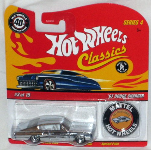 Hot Wheels Classic Series 4: '67 Dodge Charger #03 of 15 Mattel 1:64 Scale Die Cast - 1