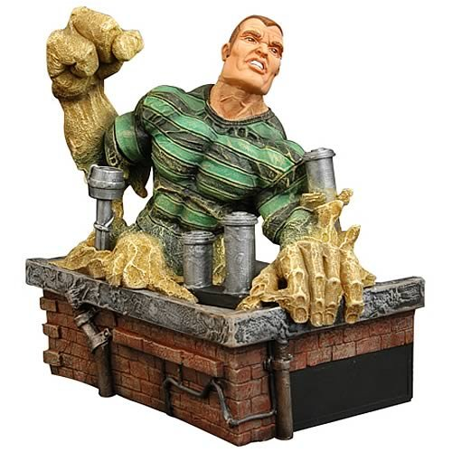Spider-Man Sinister 6 Sandman Medium Statue, Not Mint - Buy Spider-Man Sinister 6 Sandman Medium Statue, Not Mint - Purchase Spider-Man Sinister 6 Sandman Medium Statue, Not Mint (Diamond Select, Toys & Games,Categories,Action Figures,Statues Maquettes & Busts)