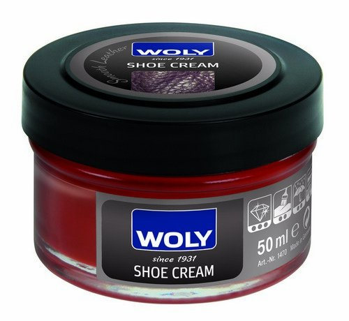 Woly Woly Shoe Cream Polish Medium (Beige\/Sand\/Tan)