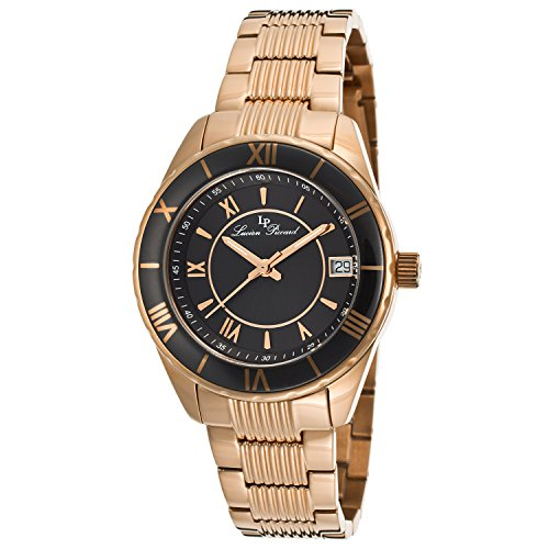 Lucien Piccard LP-12741-RG-11-BCB - Reloj para mujeres color dorado