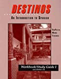 img - for Workbook/Study Guide I (Lessons 1-26) to accompany Destinos: An Introduction to Spanish book / textbook / text book