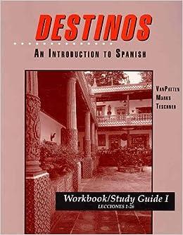 Destinos workbook answers 27 52