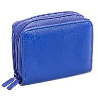 Buxton Womens RFID Identity Safe Card Wizard Wallet