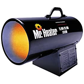 Mr. Heater 125,000 BTU Propane Forced Air Heater