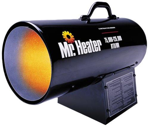 Mr Heater MH125FAV 125000-BTU Forced-Air Propane HeaterB0000C6E3L : image