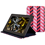Jonathan Adler Kindle Fire HDX Cover (3rd Generation - 2013 release), Herringbone Pink