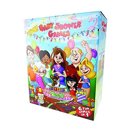 Baby Shower Games - (Combo Pack) 6 games in 1 (Blue - Tan Baby)