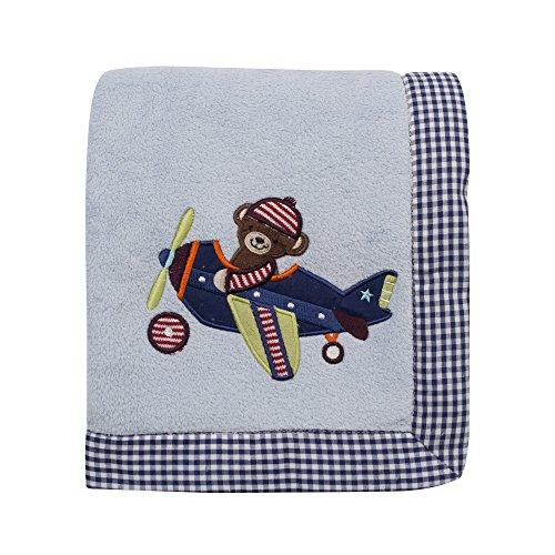 Lambs & Ivy Baby Aviator Blanket - 1
