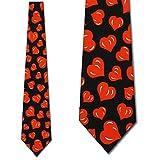 Hearts TIES Valentines Day Men's Neck tie heart