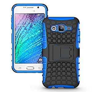 Dashmesh Shopping Hybrid case for Samsung On7 Pro (On 7 Pro),Rugged Dual Layer TPU + PC Kickstand Hybrid Case Back Cover for Samsung On7 Pro (On 7 Pro) - Royal BLUE color