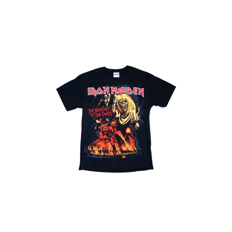 Iron Maiden   Number Of The Beast T Shirt