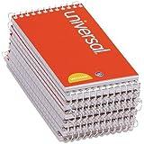 Universal 3x5-Inch Narrow Ruled Wirebound Memo Book, 12 per Box (UNV20435-CL)