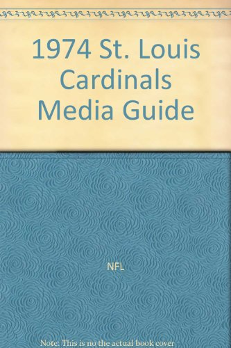 1974 St. Louis Cardinals Media Guide at Amazon.com