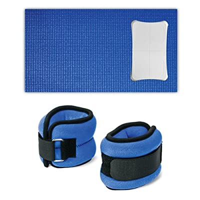 Wii Fit Yoga Mat And Anklewrist Weights Combo by CTA Digital