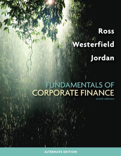 Fundamentals of Corporate Finance Alternate Edition with...