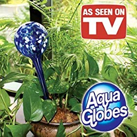 Aqua Globes Plant Watering As Seen On TV Set/4