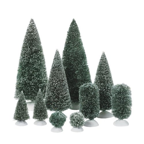 Department 56 Bottle Brush Tree Assortment