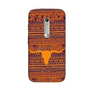 TribalLongHorn Case for Motorola Moto G3 (3rd Gen)