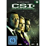"CSI: Crime Scene Investigation - Season 9 [6 DVDs]von ""Laurence Fishburne"""