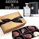 【GODIVA】ゴディバ ゴールド アソート (6粒入り)【BVLGARI】ブルガリ プールオム ソワール オーデトワレ 5ml バレンタインセット