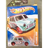 Hot Wheels 2011 Track Stars Morris Mini On Green Lantern Card By Hot Wheels