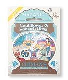 Chimans Organic Cauliflower & Spinach Bhaji Authentic Indian Spice Blend 1x21g