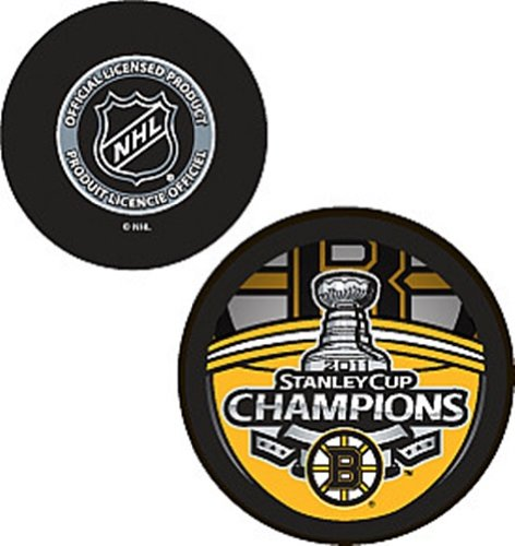 NHL 2011 Boston Bruins Stanley Cup Hockey Champions Trophy Puck (Champions Cup Trophy compare prices)