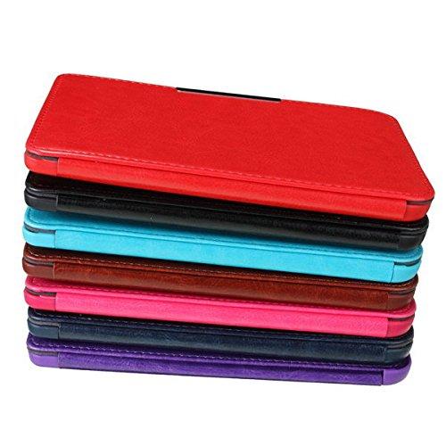 Flying Colourz Magnétique pu étui en cuir protecteur de couverture pour kobo glo lecteur ebook