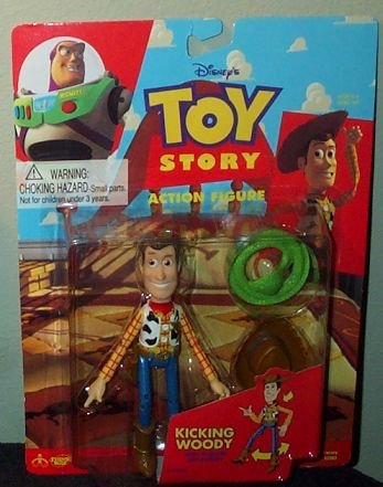 Toy Story Kicking Woody Action Figure - 1
