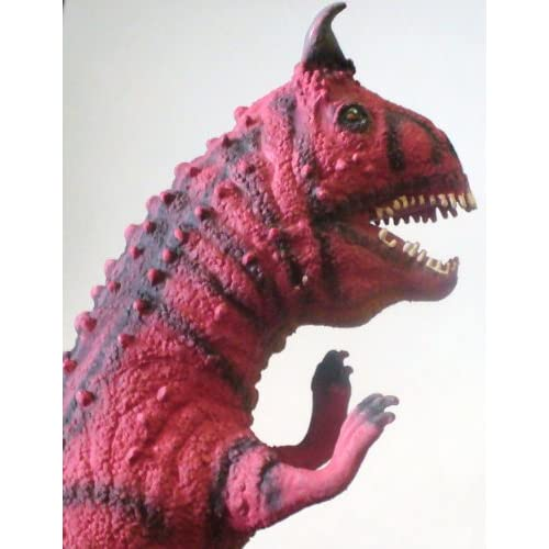 Amazon.com: DISNEY DINOLAND HORNED SHARP TOOTH RED T-REX ~ FOAM TOY