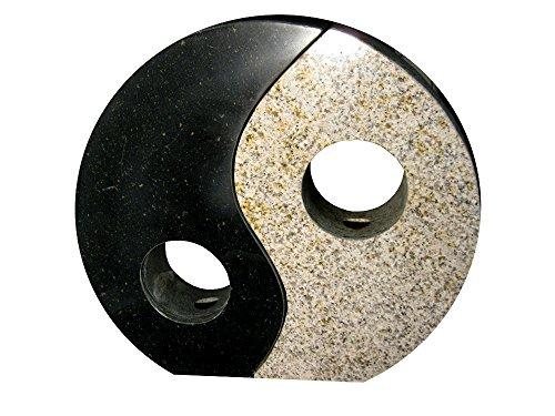 yin yang brunnen handgearbeiteter naturstein brunnen yin yang wasserspiel granit. Black Bedroom Furniture Sets. Home Design Ideas