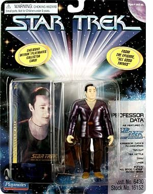 "Professor Data Star Trek: The Next Generation Action Figure From The Episodes ""All Good Things"""
