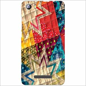 Micromax Spark2 Q334 Back Cover - Silicon Shaded Designer Cases