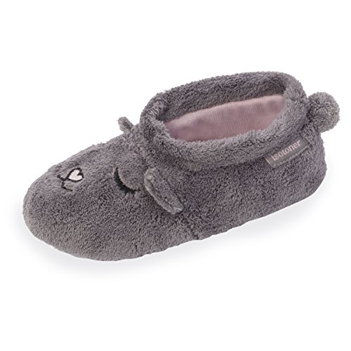 chaussons-bottillons-fille-isotoner-33-34