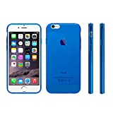 【 iphone6 4'7 対応 】 mtmd decolor tpuハードシリコン ケース 全9色 (ブルー)
