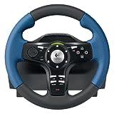 echange, troc Logitech Driving Force EX - Ensemble volant et pédales - pour Sony PlayStation 2