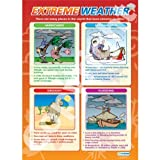 Extreme Weather Geography Educational Wall ChartPoster in laminated paper A1 850mm x 594mm