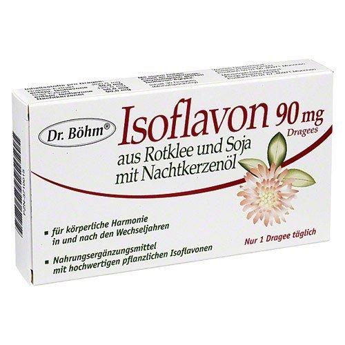 ISOFLAVON 90 mg Dr. Boehm Drag., 30 St by Astellas Pharma GmbH