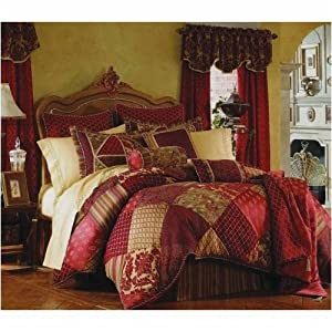 10pc Luxurious Rich Bed In A Bag Comforter