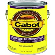 Valspar 140.0001608.007 Cabot Solid Color Oil-Based Decking Stain