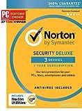 Norton Security Deluxe + Norton Utilities Bundle - 3 Devices [Key Card]