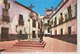 img - for Postal 015779: Plaza de las Tres Cruces en el Barrio de Santa Cruz de Sevilla book / textbook / text book