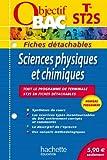 Objectif Bac - Fiches détachables - Sciences physiques et chimiques Terminale ST2S