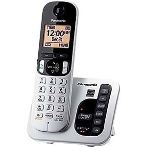 Panasonic KX-TGC220S dect_6.0 1-Handset Landline Telephone