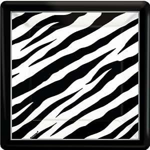 Zebra Square Dinner Plate - ECO