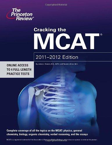 Cracking The Mcat, 2011-2012 Edition (Graduate School Test Preparation)