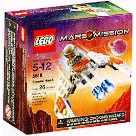 Lego Mars Mission Mini Figure Set #5619 Crystal Hawk Amazon.com