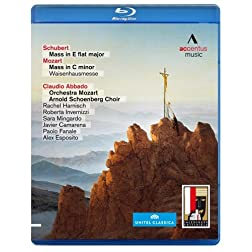 Schubert:  Mass in E flat major; Mozart: Mass in C minor [Blu-ray]