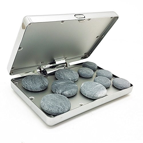 Royal Massage Chrome Case Hot Stone Heater w/10 Hot Rocks (Hot Oil Warmer compare prices)